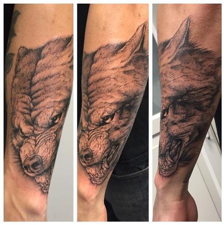 Wolf Tattoo Tattoo Thumbnail
