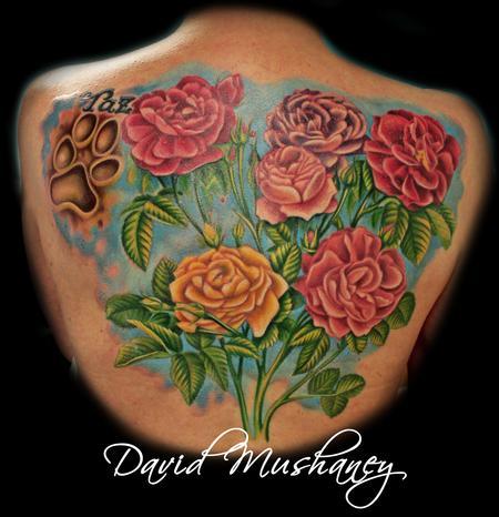 Tattoos - Roses - 70016