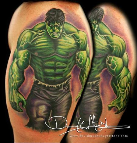 Tattoos - The Incredible Hulk Tattoo - 73781