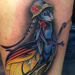 Tattoos - Colorful Firefly Tattoo - 99236