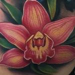 Tattoos - Colorful Orchid Cover-Up Tattoo - 106474