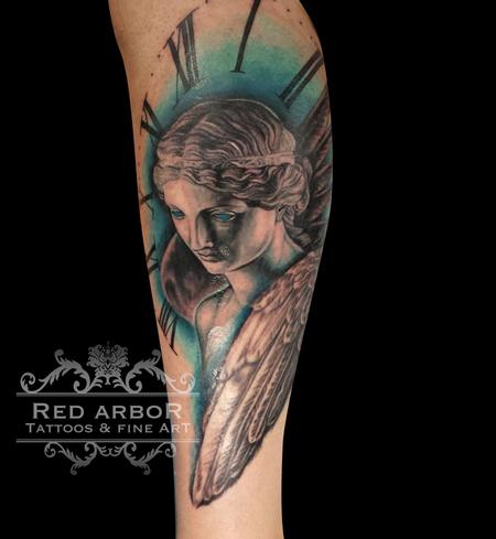 Cory Claussen - Winged Valkyrie Tattoo