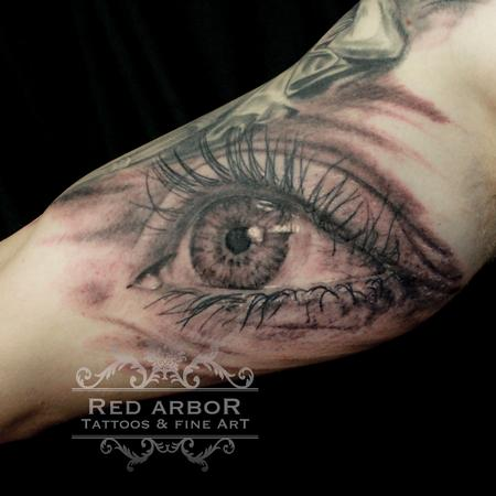 Eye Tattoo Tattoo Design Thumbnail