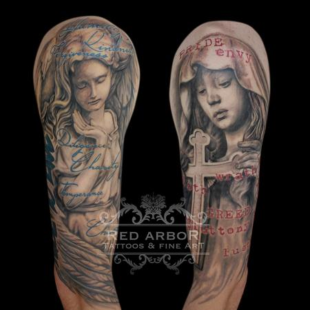 Tattoos - Deadly Sins and Virtues - 110148