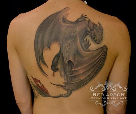 Tattoos - Toothless How to Train you Dragon - 101410