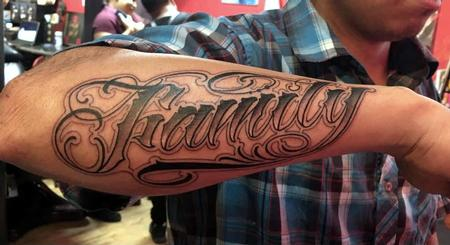 Tattoos - name tattoo - 132460