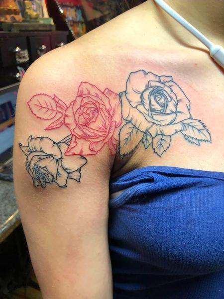 Tattoos - Roses - 132206