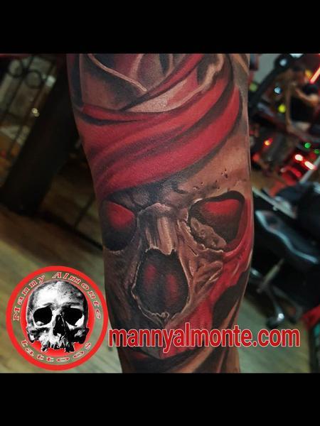 Tattoos - Skull - 116097