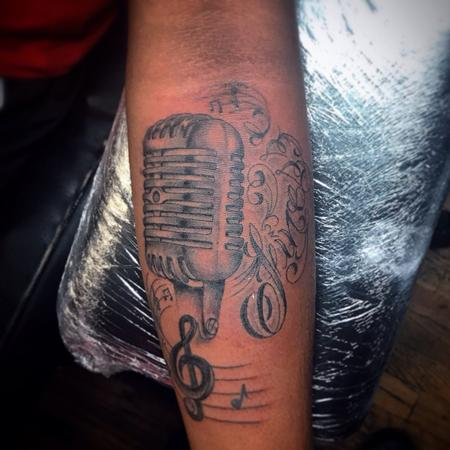 Tattoos - Microphone - 129595