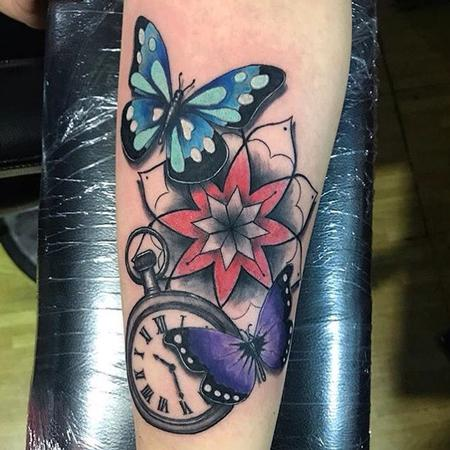 Tattoos - butterfly  - 129608