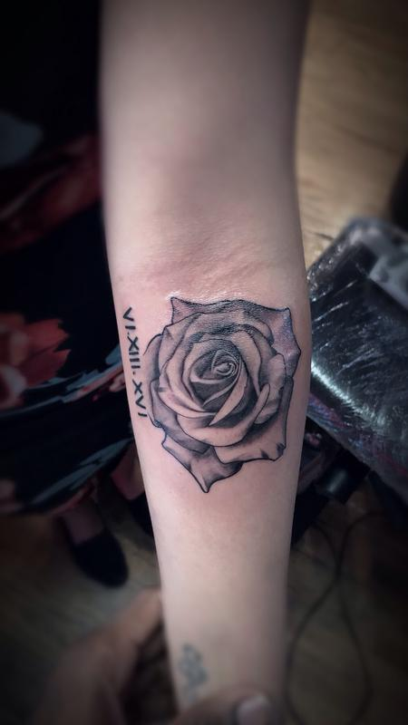 Tattoos - ROSE - 129598