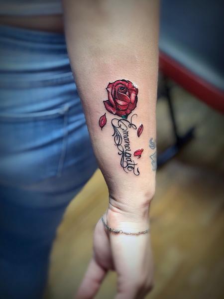 Tattoos - Rose - 132683