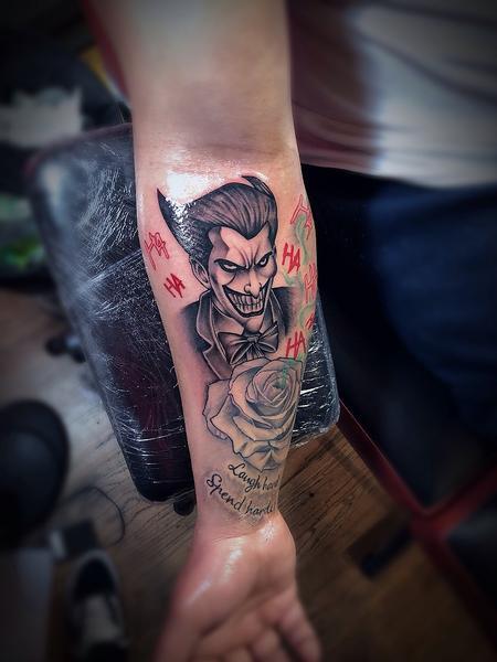 Joker With Rose
