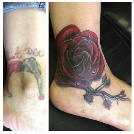 rose / cover up