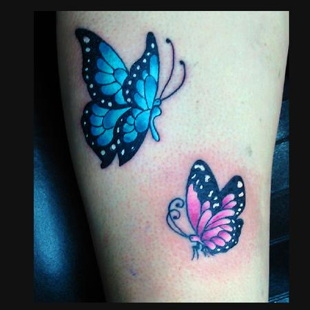 Color Butterfly  Design Thumbnail