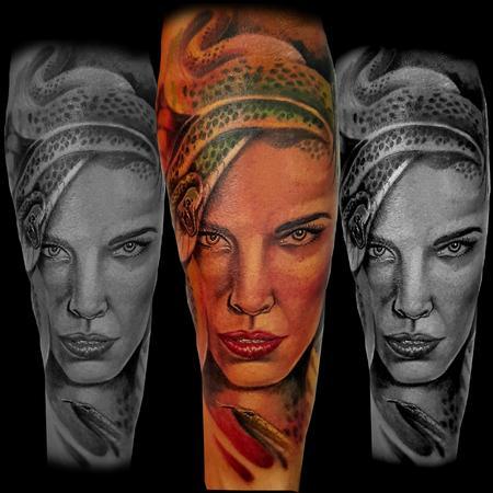 Tattoos - Medusa - 122910
