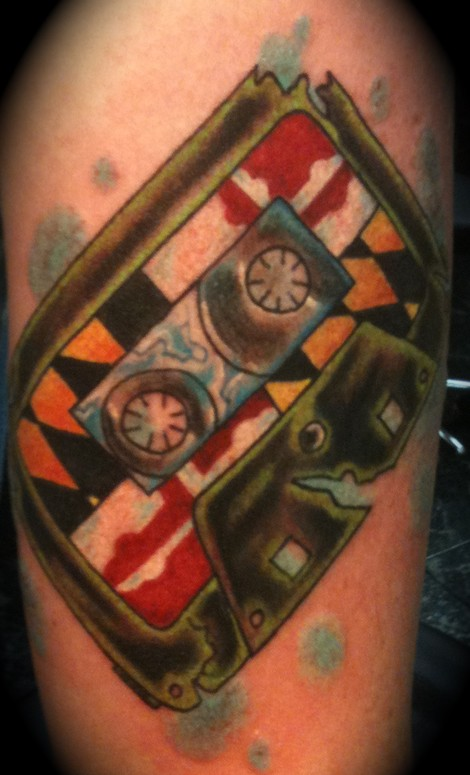 Maryland mix tape by shannon tattoonow for Best tattoo shops in maryland