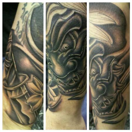 Hannya Mask/Cover-up Tattoo Design