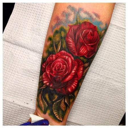 Raphael Barros - rose cover up
