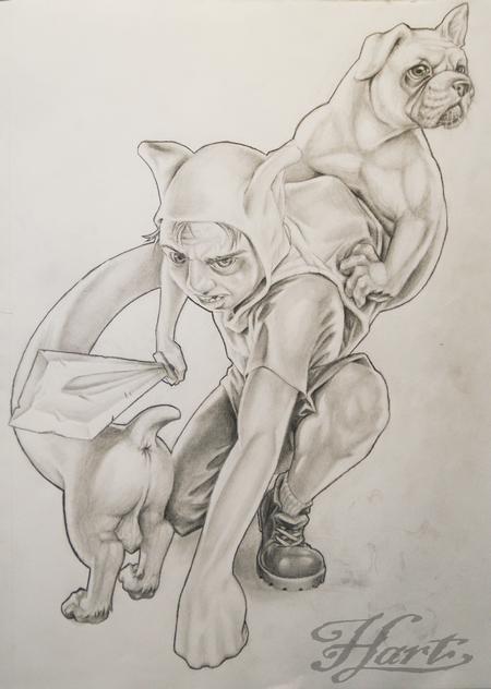 Finn Realistic Drawing Finn And Jake