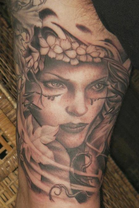 Ethan Morgan - Realistic Women Tattoo