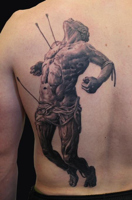 Tattoos - Saint Sebastian - 96373