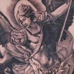 Classic St.Michael  Tattoo Design Thumbnail