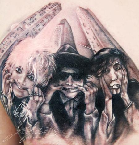 Hanoi Rocks Tattoo Design