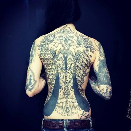 Tattoos - Back Piece - 99038