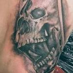 Ace of spades skull Tattoo Design Thumbnail