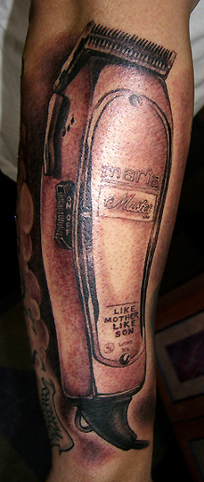 Barber Clippers by Chris Dingwell: TattooNOW