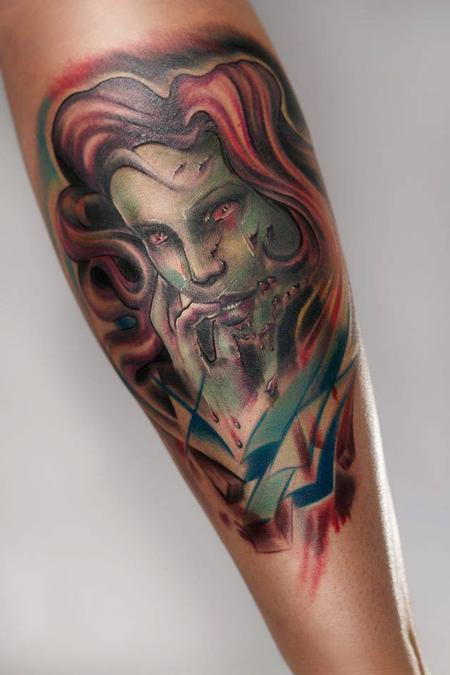 Tattoos - Zombie Pin Up Girl - 108924