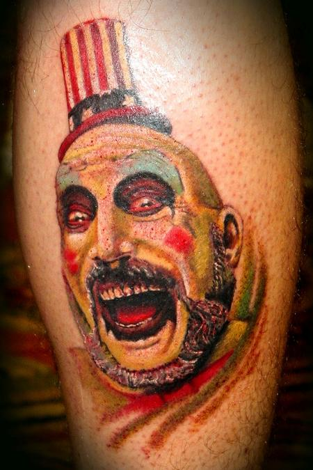 captain spaulding by peters tattoonow