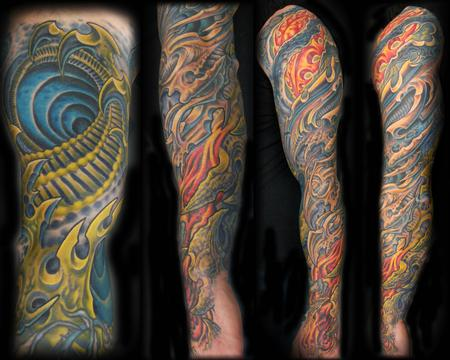 Tattoos - Bio Organic sleeve - 75141