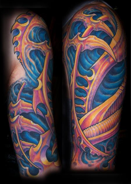 Tattoos - Bio Half Sleeve - 75143