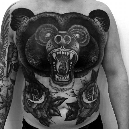 Tattoos - full bear - 127094