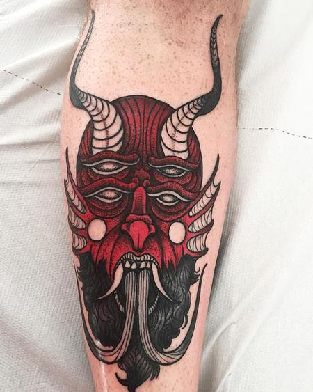Tattoos - red devil - 127103