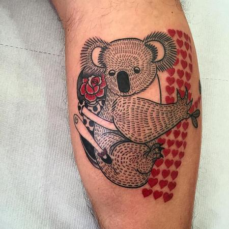 Tattoos - koala lovers - 127108