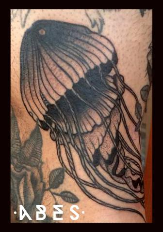 Tattoos - jellyfish - 106588