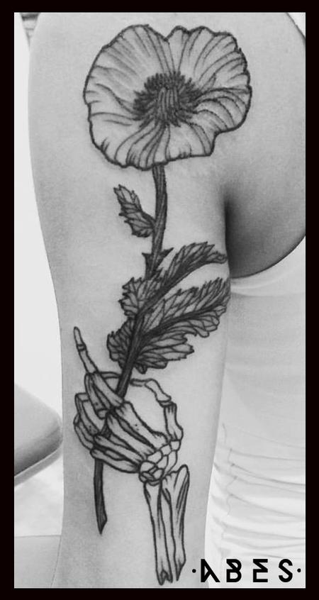 Tattoos - opium poppy - 110207