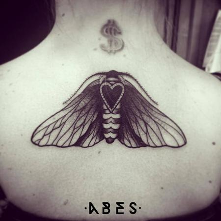 Tattoos - hearth moth - 110209