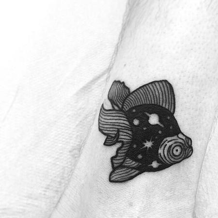 Tattoos - little space fish - 128706
