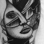 nano girl Tattoo Design Thumbnail