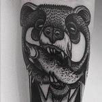 sir bear Tattoo Design Thumbnail
