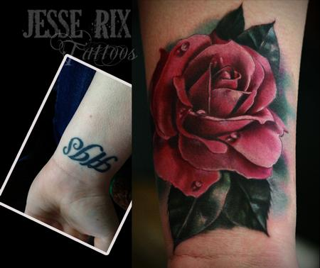Jesse Rix - Pink Rose Tattoo