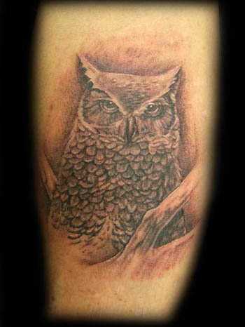 Tattoos Tattoos Nature Animal Bird Owl Tattoo Now viewing image 29 of 35