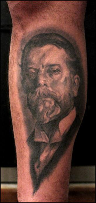 Tattoos - portrait of the artist, john singer sargent - 58612