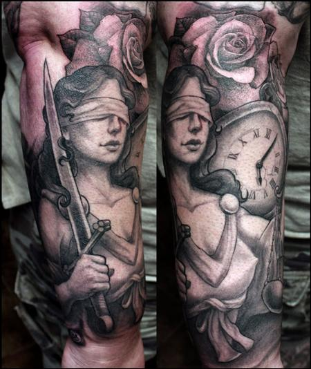Tattoos - lady liberty - 58615