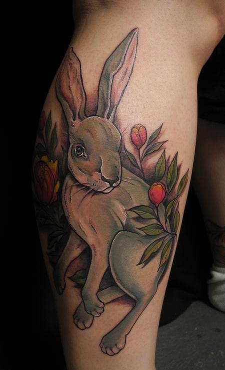Tattoos - Hare tattoo  - 79063