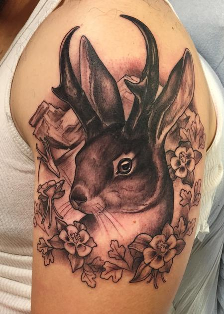Tattoos - Jackalope - 109275